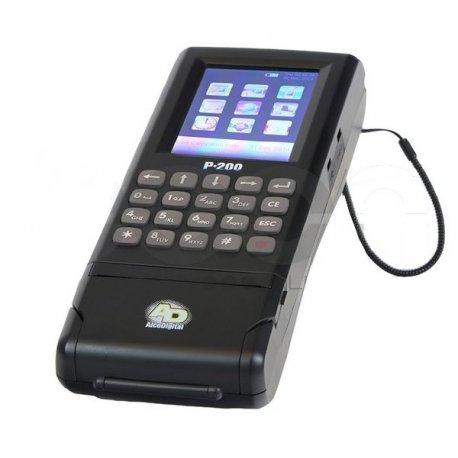 AlcoDigital P200 z wbudowaną drukarką